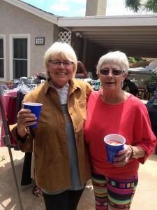 Diane & Jane 2016 SSNAAPE Rummage sale